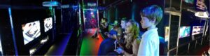 Metro Atlanta video game truck birthday party by TKT Gamers Zone